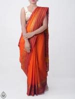 Shop Online Pure Handloom Narayanpet Cotton Saree with Tassels_8
