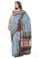 Tussar silk saree_4
