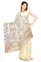 Tussar silk saree_19