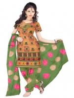 Bandhini Cotton Salwar Kameez_10