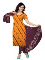 Bandhini Cotton Salwar Kameez_13