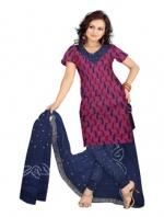 Bandhini Cotton Salwar Kameez_15