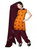 Bandhini Cotton Salwar Kameez_16
