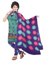 Bandhini Cotton Salwar Kameez_8