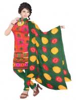 Bandhini Cotton Salwar Kameez_9