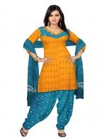 Online Bandhini Cotton Salwar Kameez_24