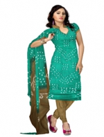 Online Bandhini Cotton Salwar Kameez_28
