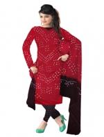 Online Bandhini Cotton Salwar Kameez_30