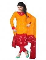 Online Bandhini Cotton Salwar Kameez_33