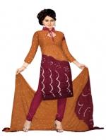 Online Bandhini Cotton Salwar Kameez_34