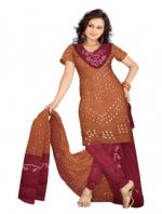 Online Bandhini Cotton Salwar Kameez_35