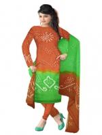 Online Bandhini Cotton Salwar Kameez_36