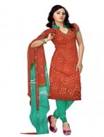 Online Bandhini Cotton Salwar Kameez_37