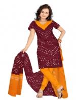 Online Bandhini Cotton Salwar Kameez_38