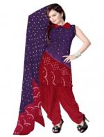 Online Bandhini Cotton Salwar Kameez_39