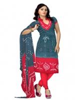 Online Bandhini Cotton Salwar Kameez_40