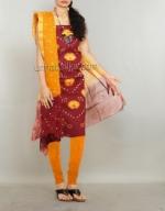 Online Bandhini Cotton Salwar Suit_41