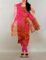 Online Bandhini Cotton Salwar Suit_43