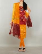 Online Bandhini Cotton Salwar Suit_44