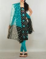 Online Bandhini Cotton Salwar Suit_46