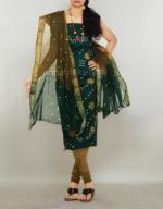 Online Bandhini Cotton Salwar Suit_47