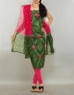 Online Bandhini Cotton Salwar Suit_48