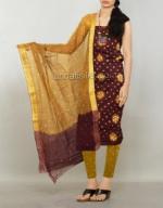 Online Bandhini Cotton Salwar Suit_49