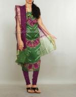 Online Bandhini Cotton Salwar Suit_50