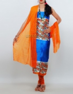 Dupion & Raw Silk Salwar Kameez_11