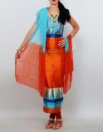 Dupion & Raw Silk Salwar Kameez_13