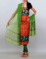 Dupion & Raw Silk Salwar Kameez_17