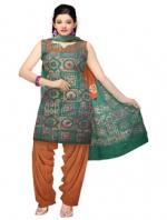 Online Hnadloom Cotton Salwar Kameez_29