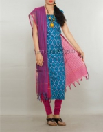 Online Pochampally Cotton Salwar Kameez_17