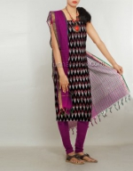 Online Pochampally Cotton Salwar Kameez_21