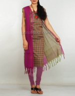 Online Pochampally Cotton Salwar Kameez_26