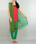 Online Pochampally Cotton Salwar Kameez_31