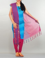 Pochampally Cotton Salwar Kameez_36