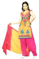 Tussar Silk Salwar Kameez_10