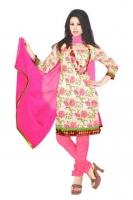 Tussar Silk Salwar Kameez_1
