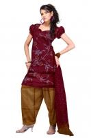 Tussar Silk Salwar Kameez_3