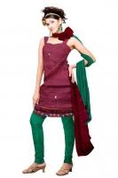 Tussar Silk Salwar Kameez_6