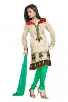 Tussar Silk Salwar Kameez_9