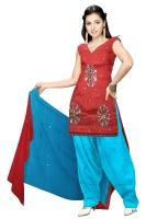 Tussar Silk Salwar Kameez_20