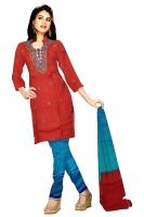 Tussar Silk Salwar Kameez_16