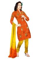 Tussar Silk Salwar Kameez_18