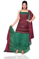 Tussar Silk Salwar Kameez_19