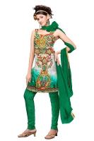 Tussar Silk Salwar Kameez_41