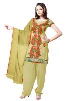 Tussar Silk Salwar Kameez_35