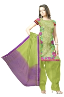Tussar Silk Salwar Kameez_46