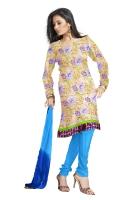 Tussar Silk Salwar Kameez_39